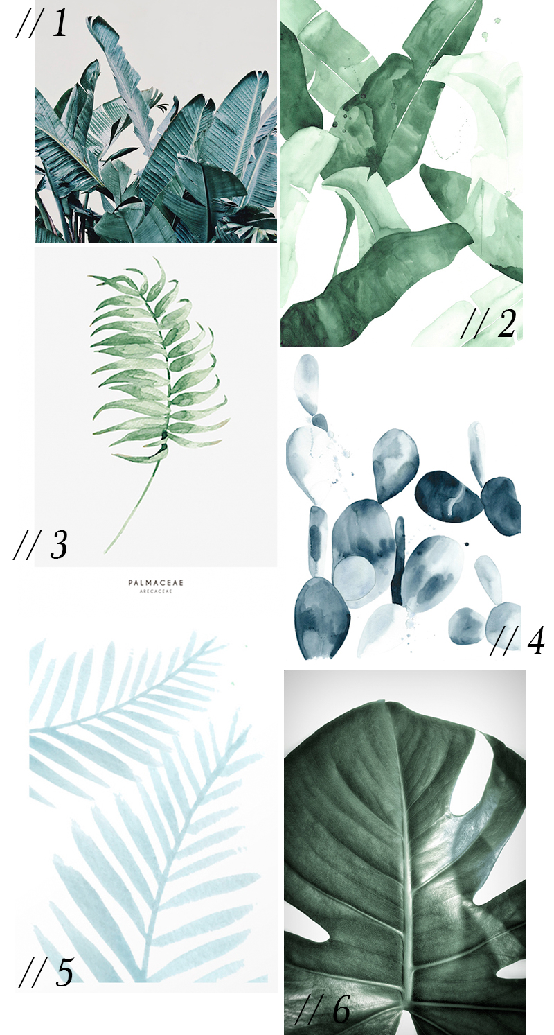green-leaves-poster
